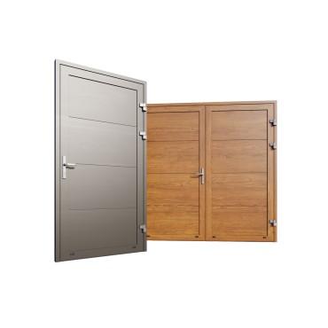Drzwi boczne i garażowe