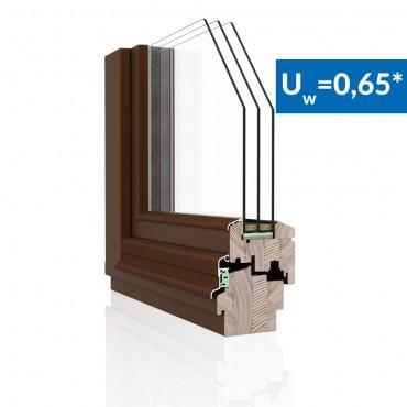 Drevené okno DDF-92