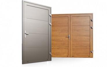 Hliníkové vedlajšie dvere
